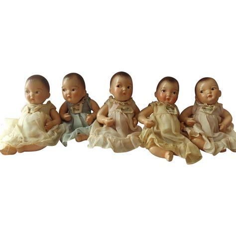 composition doll bodies for sale japan 7 quot dionne quintuplets composition dolls