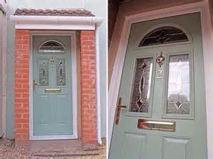 Upvc Composite Front Doors Upvc Green Colour Composite Front Door Made To Measure Different Designs