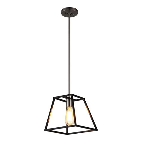 Square Pendant Light Fixture Ove Decors Agnes 10 0 In Black Square Led Pendant Agnes 1 Pndt 1b Squares Pendants And House