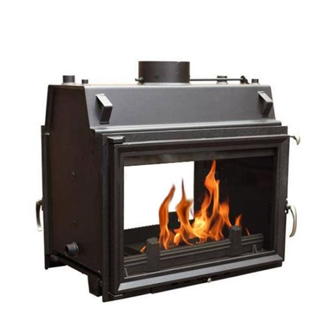 Boiler Fireplace by Oliwia Tunnel 22kw Sided Boiler Insert Stove