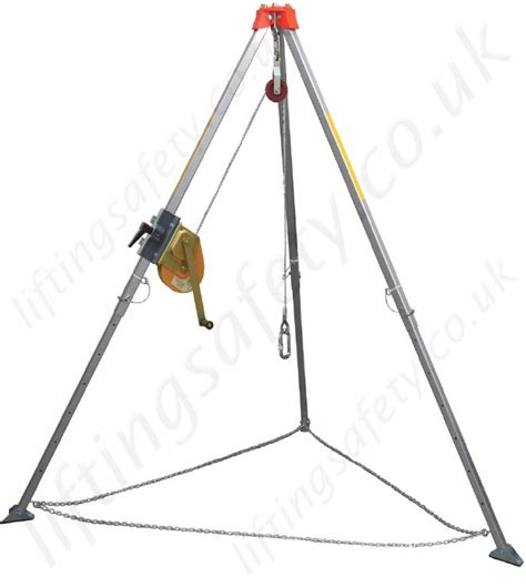 Tripod Rescue yale tripod portable lightweight aluminium for fall arrest and rescue