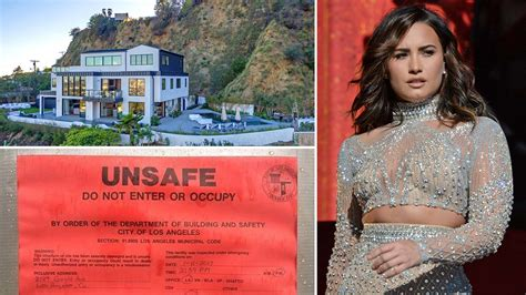 demi lovato house damage control demi lovato s l a house hit by a landslide cambodia property