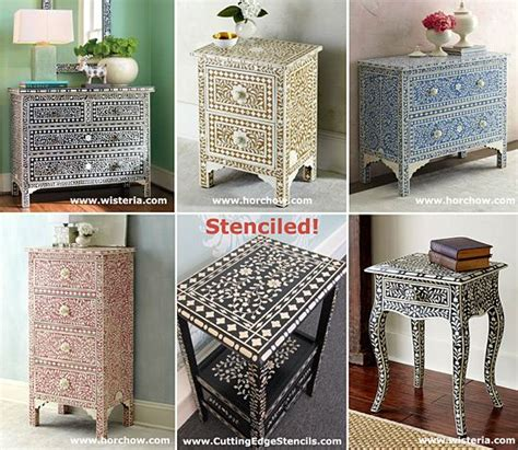 Furniture Stencils by 25 Unique Stencil Table Ideas On Stenciled