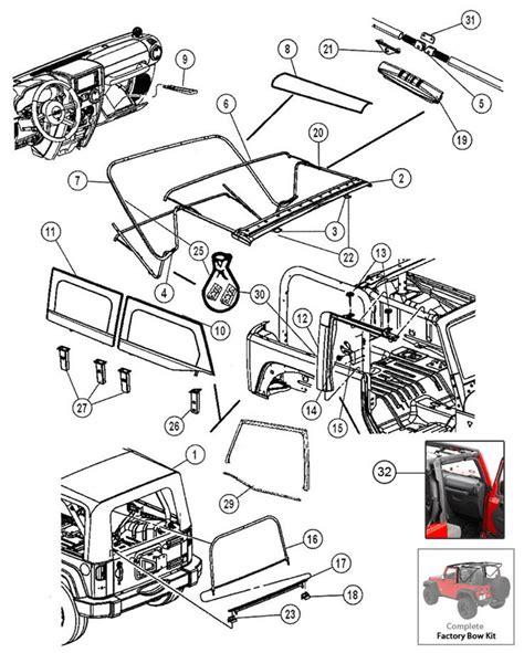Jeep Parts List 17 Best Images About Jeep Jk Parts Diagrams On