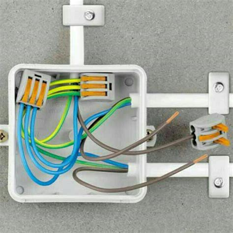 Sambungan Jepit 2 Jalur Connector 2 Wire Connector 1 jual wago connector cable cl 3 wire konektor