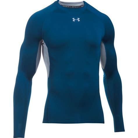 Mens Logo Sleeve Compression 2017 armour mens heatgear compression shirt