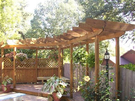 15 Best Images About Corner Pergola Ideas On Pinterest Corner Pergola Plans
