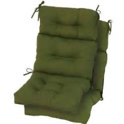 Patio Chair Replacement Cushions Replacement Patio Chair Cushion High Back Outdoor Furniture Green Free Ship Ebay