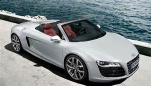 Drop Top Audi R8 Audi R8 V10 Spyder Takes Drop Top Of The Year At Scoty