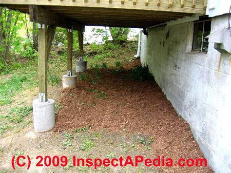 install l post concrete deck post pier blocks deck design and ideas