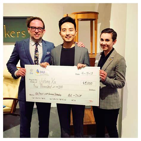 Lgbt Mba Scholarships by 2018 Iba Dvlf Scholarship Winner Jiahong Xu