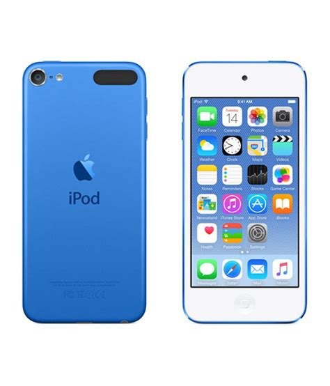 buy apple ipod touch 64gb 2015 edition blue at best price in india snapdeal