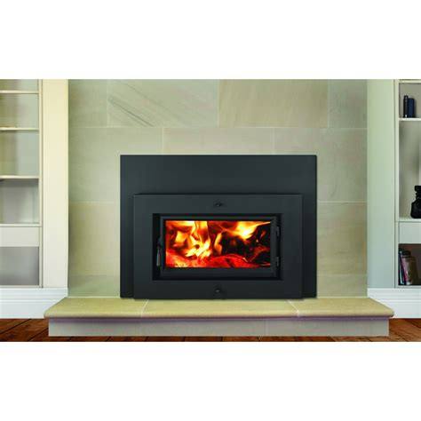 Heating Fireplace by Lopi Flush Wood Fireplace Insert Wood Heating