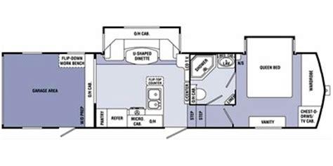 sunnybrook rv floor plans 2011 sunnybrook titan fifth wheel series m 30surv specs