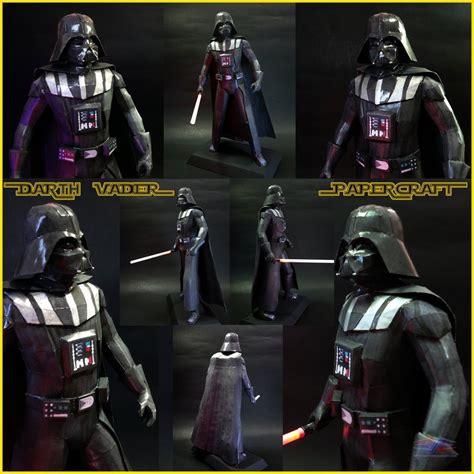 Papercraft Darth Vader - darth vader papercraft by brspidey on deviantart