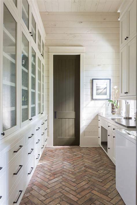 brick pavers   mudroom herringbone brick floors