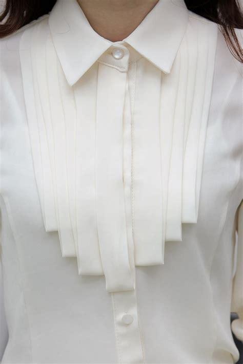 Kemeja Wanita kemeja kerja wanita import putih lengan panjang model