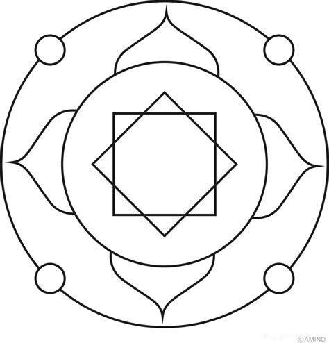 mandala coloring pages easy image gallery easy mandalas