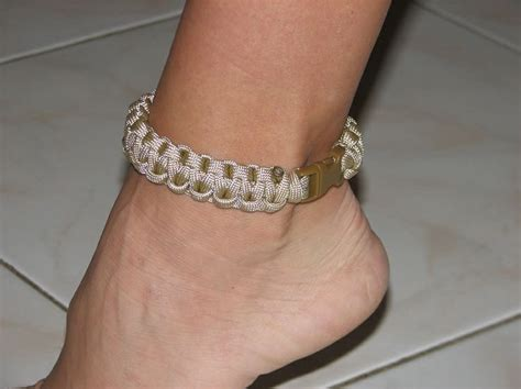 7 Ankle Bracelets by 17 Best Images About Paracord On Knitting