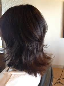 pin short layered flip out hairstyle on pinterest