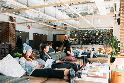 Work Office Ideas a look inside wework s williamsburg coworking space