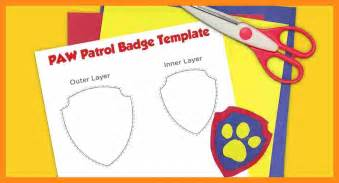 paw patrol templates 11 paw patrol badge templates actor resumed