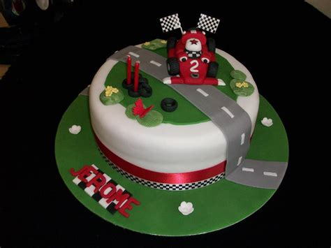 race car cake photo pictures
