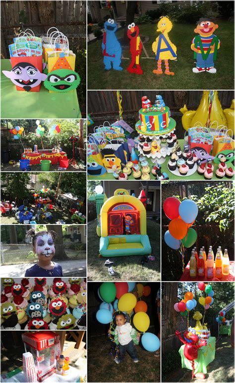 birthday themes sesame street sesame street birthday party