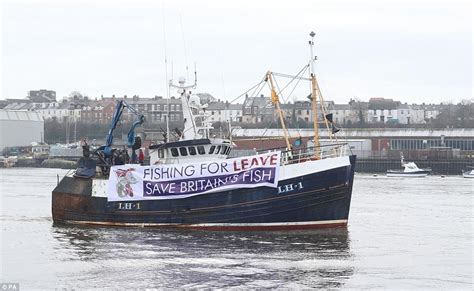 boat parts newcastle fishermen take to britain s rivers to protest brexit