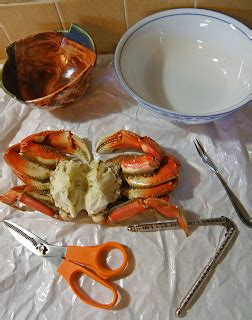 To Market Crab Tools by Seasonal Dungeness Crab Selecting And Reheating