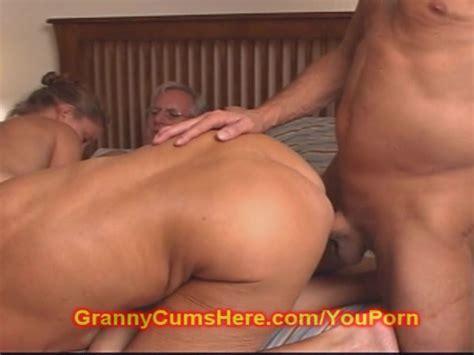 Granny And Grandpa Fuck A Cute Teen Girl Free Porn
