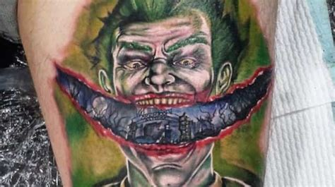 joker teeth tattoo joker tattoos for men ideas and inspiration for guys