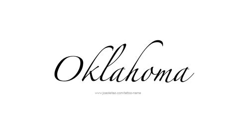 ou tattoo designs oklahoma usa state name designs page 3 of 5