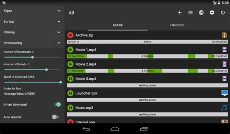 manage my android best idm manager for android free apk