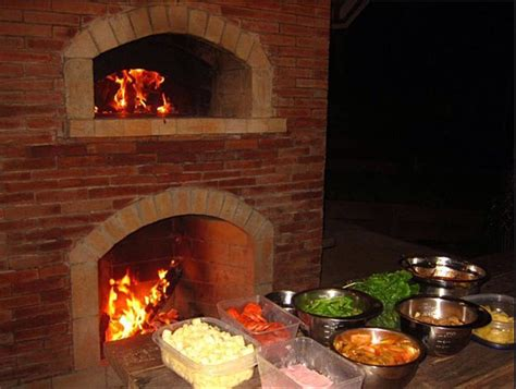 Outdoor Fireplace And Pizza Oven Combination Outdoor Outdoor Pizza Oven Fireplace Combo