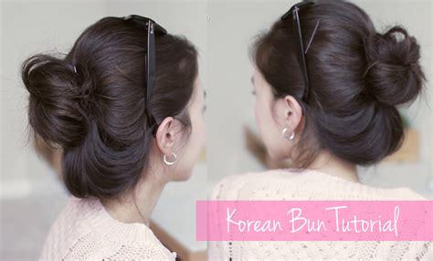 Cepol Korea Bun Size L korean bun tutorial 당고머리 예쁘게 묶는법