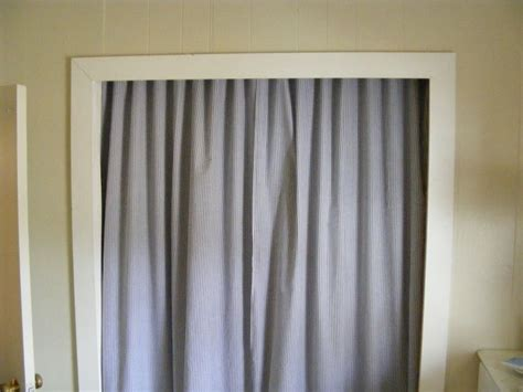 closet curtain rod best 25 curtain closet ideas on pinterest curtain
