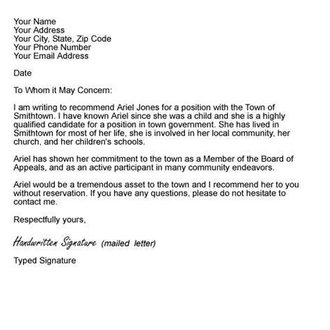 Recommendation Letter For Hospital Employee recommendation letter when interviewing candidates