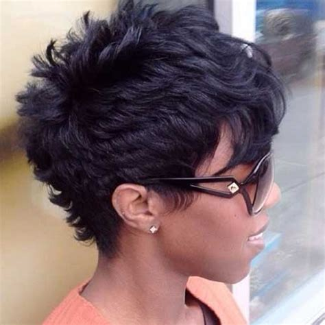 short haircuts for black women with a swoop in the front 15 new short hairstyles with bangs for black women short