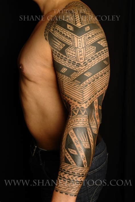 tribal tattoo zine collection of 25 polynesian on sleeve