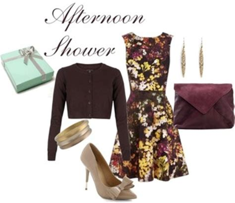 What To Wear To An Afternoon Bridal Shower by What To Wear To An Afternoon Bridal Shower Style