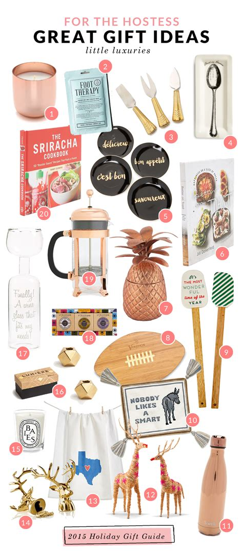 gifts for the host holiday gift guide ideas for the host hostess corals
