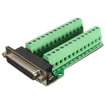 pin porta seriale db25 femmina adattatore a 25 pin rs 232 connettore della