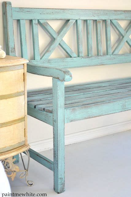 how to paint a wooden bench gardens for the and rustic bench on pinterest
