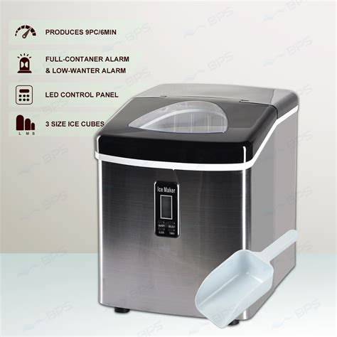 3 2l home portable cube maker machine w lcd