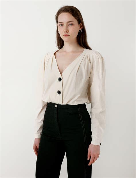 Blouse V lemaire v neck blouse garmentory