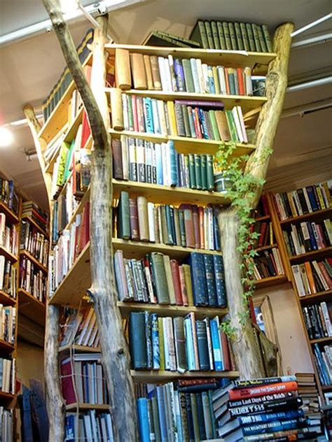 17 best ideas about tree bookshelf on tree