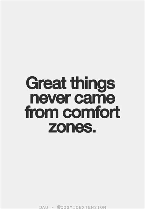 quotes about comfortable love comfort zones cancer positive