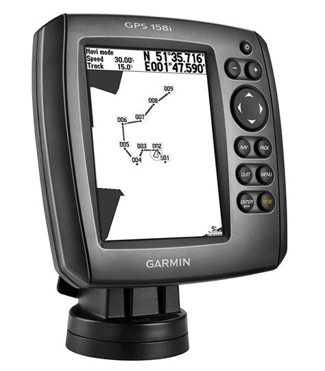 small boat gps uk new garmin gps 158i 5 quot lcd standalone signals receiver