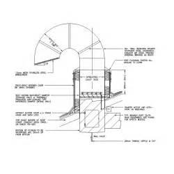 Exhaust Duct System Design 2d Cad Gooseneck Exhaust Duct Cadblocksfree Cad Blocks Free